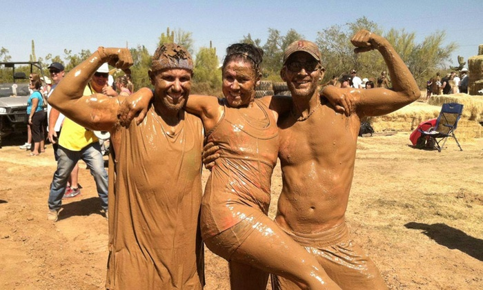 Arizona Mudathon - Desert View: One or Two Groupons, Each Good for Entry to a Five-Mile Mud Run from Arizona Mudathon on April 26 (Up to 54% Off)