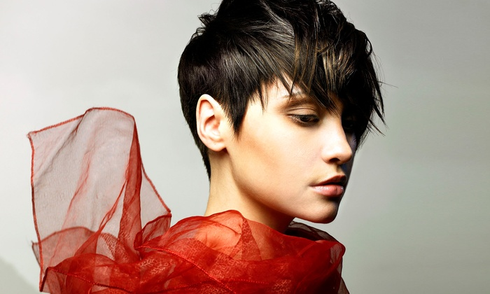 Gary Manuel Aveda Institute - Broadway: Haircut and Treatment with Optional Single-Process Color or Full Foils at Gary Manuel Aveda Institute (Up to 59% Off)