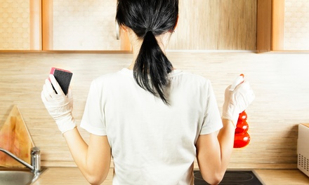 One Two- or Three-Hour Housecleaning Session from Exec (Up to 56% Off)