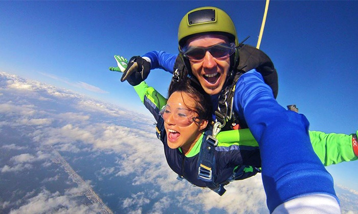 Skydive OC - Ocean City, MD: $169 for a Tandem Skydiving Experience with $30 Photo Credit at Skydive OC ($339 Value)
