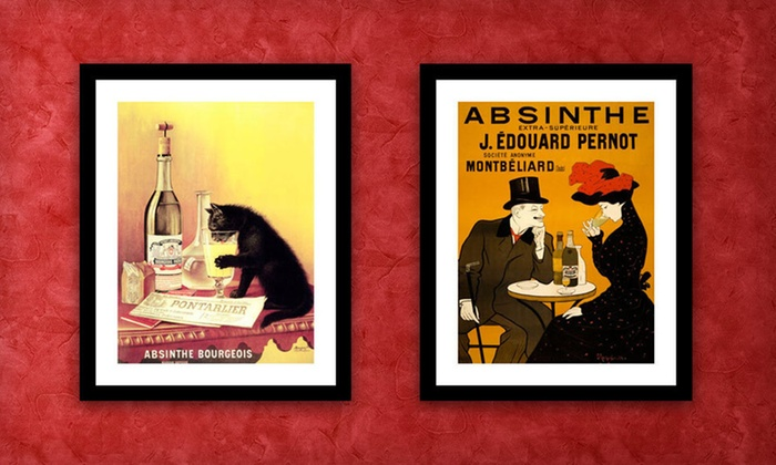 Framed Vintage-Style Advertisements: $69.99 for a Framed Vintage-Style Advertisement ($232 List Price). 18 Options Available. Free Shipping and Free Returns.