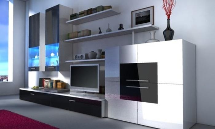 Soggiorno lounge completo groupon goods for Groupon mobili soggiorno
