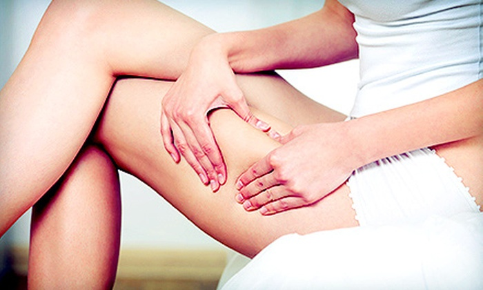 HLC Med - Multiple Locations: Three Body-Slimming and Cellulite Treatments, or Two Radio-Frequency Stretch-Mark Treatments at HLC Med (Up to 82% Off)