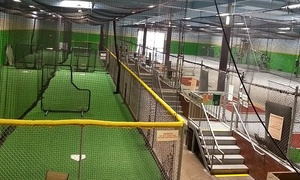 Power Alley OC: 20 or 40 Batting-Cage Tokens or 60-Minute Training-Tunnel Rental at Power Alley OC (Up to 35% Off)