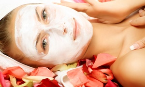 Beautyfluff Cosmetics and Spa: Facials or Body Treatment at Beautyfluff Cosmetics and Spa (Up to 55% Off). Three Options Available.