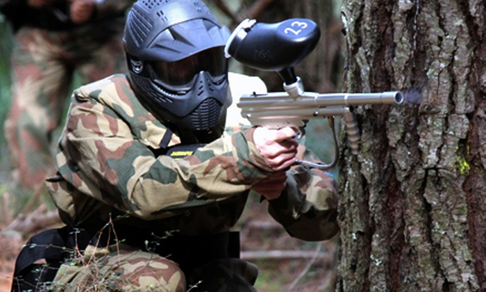 Delta Force Paintball - Tsawwassen: Paintball for One, Two, Four, or Eight with Gear Rental at Delta Force Paintball (Up to 66% Off)