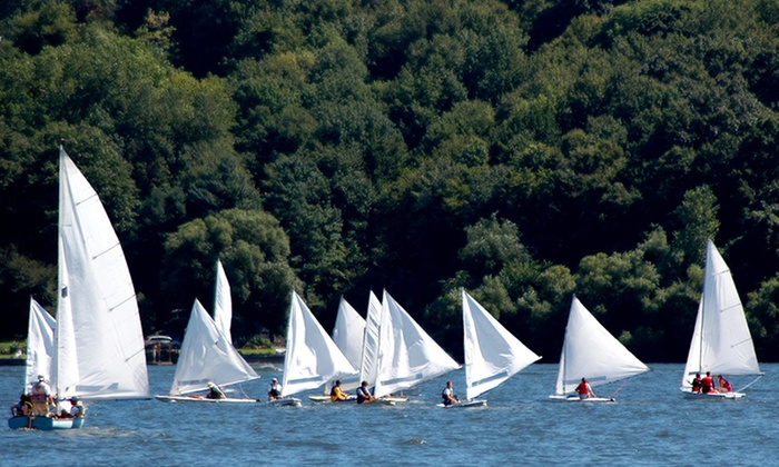 Palmer Point - Adirondack Park: One or Three Private Sailing Lessons for Two, or $40 for $80 Worth of a Sailboat Rental from Palmer Point