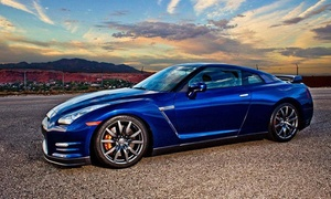 GT Industries LLC: 30-Mile Test Drive or Sprint in a Nissan GT-R from GT Industries LLC (Up to 46% Off). Three Options Available.