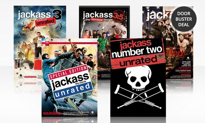 Jackass 5-DVD Movie Bundle: Jackass 5-DVD Movie Bundle. Free Returns.