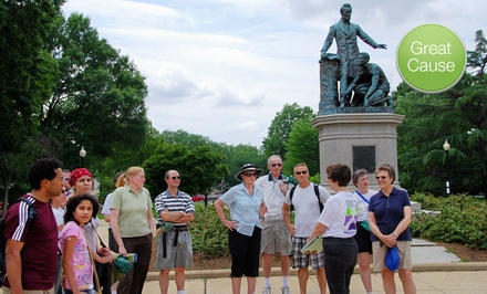 $10 Donation to Cultural Tourism DC's Free Public Tour Program