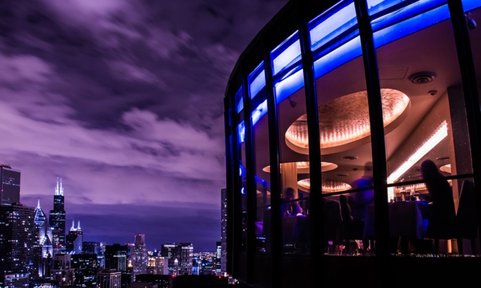 Cité - Near North Side: $30 for $60 Worth of Contemporary American Cuisine with Panoramic Skyline Views at Cité