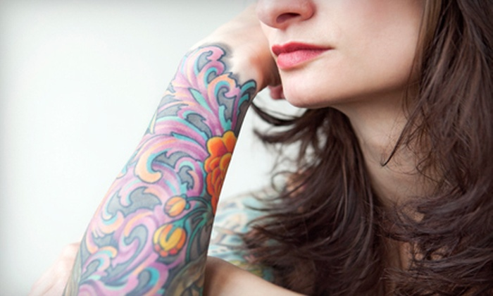 Ryan Wilson at 'Til Death Tattoo - Downtown: One or Two Hours of Tattoo Work from Ryan or One Body Piercing from Jen or Curran at 'Til Death Tattoo (Up to 67% Off)