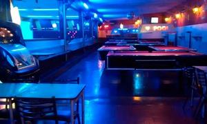 E'Star Bowling: Desde $149 por 2 o 4 líneas de bowling + 1 o 2 pizzas grandes + cervezas o gaseosas para dos o cuatro en E'Star Bowling