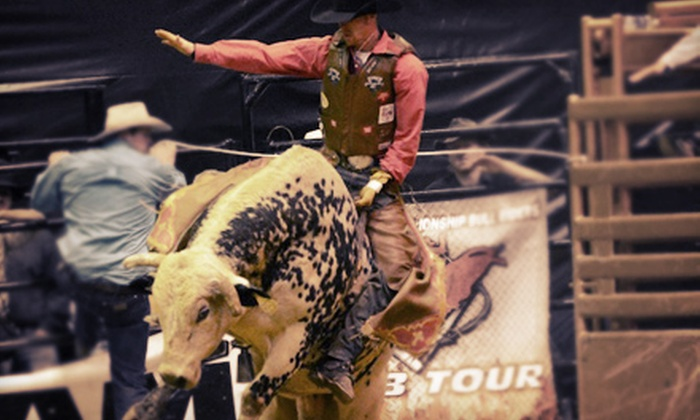 Professional Championship Bullriders - St. Charles: Professional Championship Bullriders Event for One or Two Plus Fair Admission at Kane County Fairgrounds (Up to 80% Off)