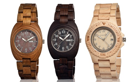 Earth Wood Unisex Watch