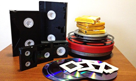 Conversion of Three or Five Home Videos to DVD at American Video (Up to 67% Off)