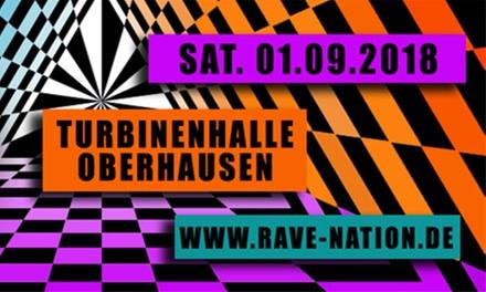 """2 Tickets für die """"Rave Nation 2018"""
