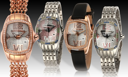 Chronotech Women's Crystal-Studded Watches. Multiple Styles Available. Free Returns.
