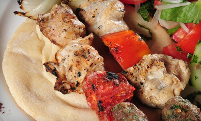 King's Town Chiropractic and The Greek Islands - Alcan: $15 for a Dine and Discover Three-Course Greek Dinner and Chiropractic Seminar for Two from King's Town Chiropractic and The Greek Island ($42 Value)