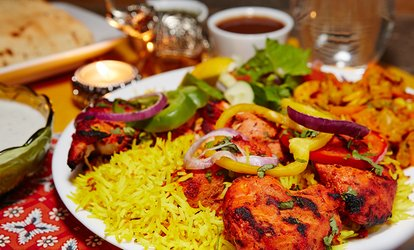 image for Indian Meal For Two, Four or Six from £16 at Cowfold Cottage Tandoori (Up to 55% Off)