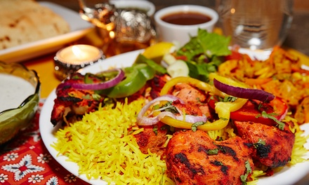 Indian Food for Lunch or Dinner for Two at Mirch Masala (40% Off)