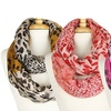 Colorful Animal-Print Infinity Scarves