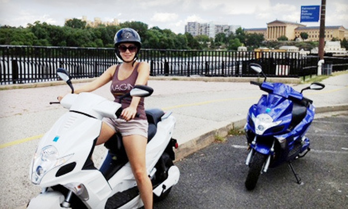 Penn Scooters - Philadelphia: Two Hours of Scooter Riding