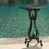 Alton Cast Aluminum Accent Table