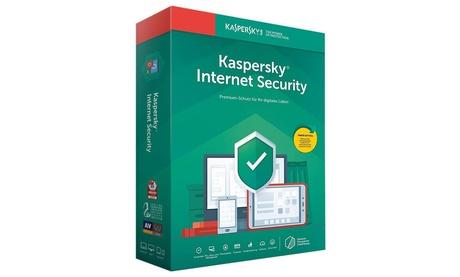 Kaspersky Internet Security 2021 para 1, 3 o 5 dispositivos durante 1 o 2 años para descargar (Envío gratuito)