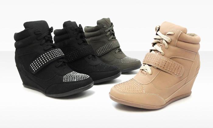 Bucco Kelda Wedge Sneakers: Bucco Kelda Wedge Sneakers. Multiple Colors Available. Free Shipping and Returns.