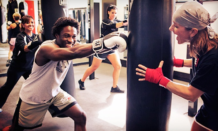 TITLE Boxing Club - Northfield: Two Weeks or One Month of Lessons with Hand Wraps at Title Boxing Club (Up to 92% Off)