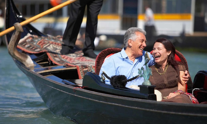 Old World Gondoliers & Electric Boat Tours - Downtown Indianapolis: $125 for a One-Hour Gondola Ride for Up to Eight from Old World Gondoliers ($300 Value)