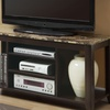 $149 for a Faux-Marble Entertainment Console