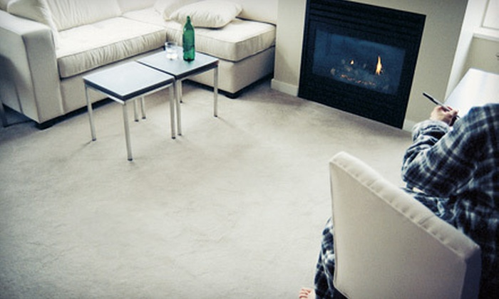 Air Fresh Chem-Dry - Orange County: Upholstery Cleaning or Three Rooms of Carpet Cleaning from Air Fresh Chem-Dry (Up to 83% Off)