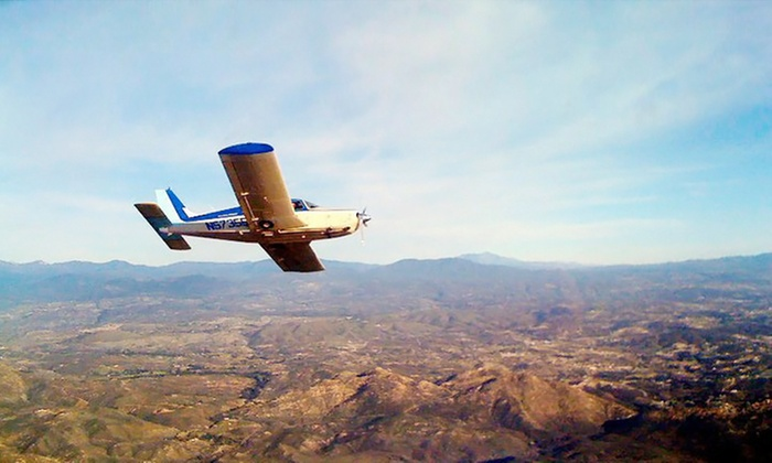 Learn To Fly San Diego - Kearny Mesa: $199 for Flight-Lesson Package for 1 Student and 2 Passengers from Learn To Fly San Diego ($592 Value)