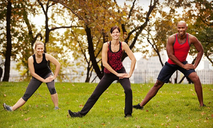 Get Fit With Drew - Multiple Locations: Four or Eight Weeks of Outdoor Group Fitness at Get Fit With Drew (Up to 82% Off)