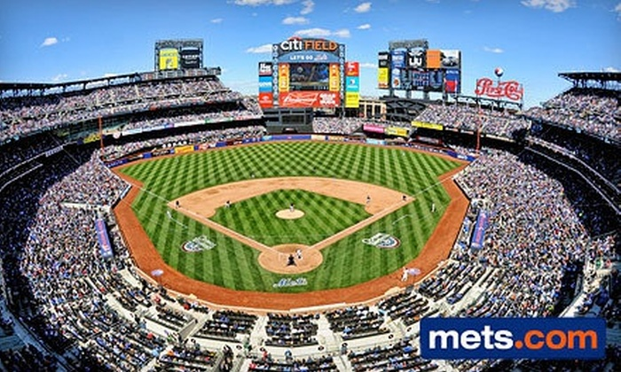 New York Mets - Citi Field: New York Mets Game at Citi Field on August 2, 6, 8, or 20 (Up to 54% Off). Various Seating Options Available.