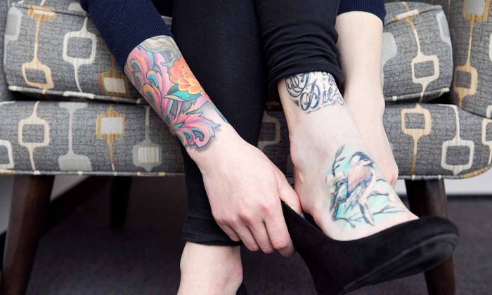 Bootleg Tattoo Las Vegas - Paradise: Tattooing or Body Jewelry, Piercing, and Dermal Services at Bootleg Tattoo Las Vegas (50% Off). Four Options.