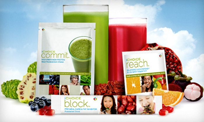 Health- and Weight-Management System: 30-Day Supply of iChoice Block, or Full iChoice Health- and Weight-Management Program (Up to 78% Off). Free Shipping.