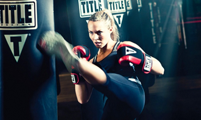 TITLE Boxing Club - TITLE Boxing Club Bloomfield: $29 for Two Weeks of Boxing and Kickboxing Classes with Hand Wraps at Title Boxing Club (a $59.49 Value)