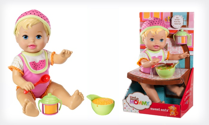 Little Mommy Everyday Moments Doll: $10.99 for a Mattel Little Mommy Everyday Moments Doll (Up to $14.99 List Price)