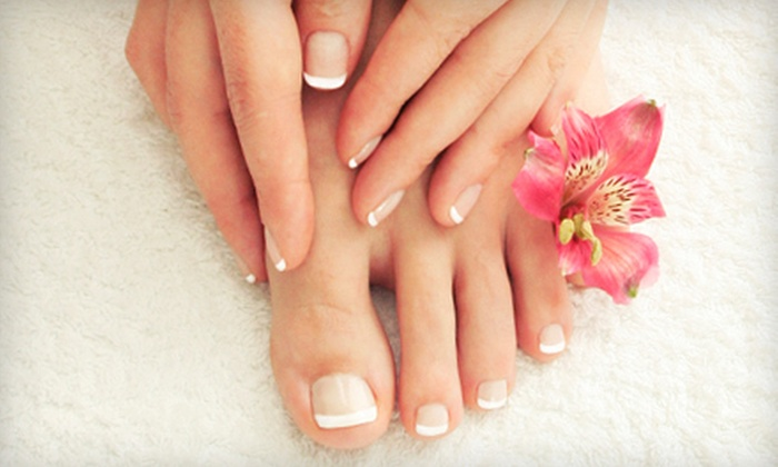 Rani Spas - Multiple Locations: One or Three Spa Mani-Pedis at Rani Spas (Up to 63% Off)