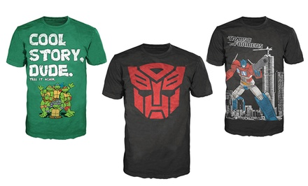 Men's Transformers and Teenage Mutant Ninja Turtles T-Shirts
