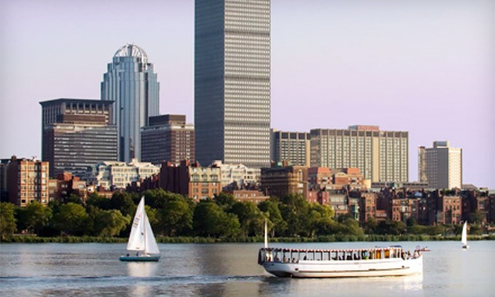 Charles Riverboat Company - Cambridgeside Galleria Mall: $29 for a 90-Minute Architecture Cruise for Two from Charles Riverboat Company ($50 Value)