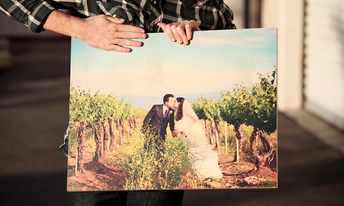 Prints on Wood: One Small, Medium, or Large Photo Wood Print from Prints on Wood (Up to 55% Off)