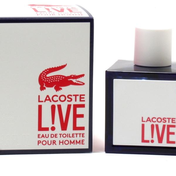 brak podatku od sprzedaży buty skate 50% ceny Lacoste L!ve Eau de Toilette for Men; 3.4 Fl. Oz.