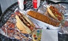 Roxy Dawgs - Multiple Locations: $7.25 for $13 Worth of Hot Dogs, Sausages, Fries, and Sodas at Roxy Dawgs