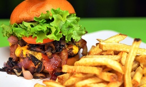 The Draft Sports Grill: Sports Bar Cuisine Cuisine at The Draft Sports Grill (Up to 36% Off). Three Options Available.
