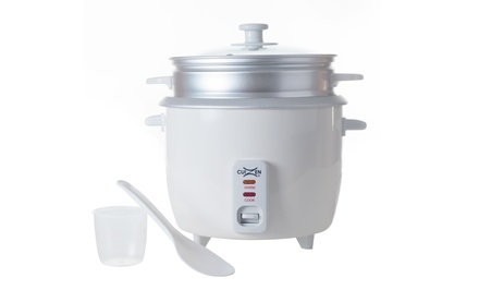 16-Cup Deluxe Rice Cooker with Steam Tray