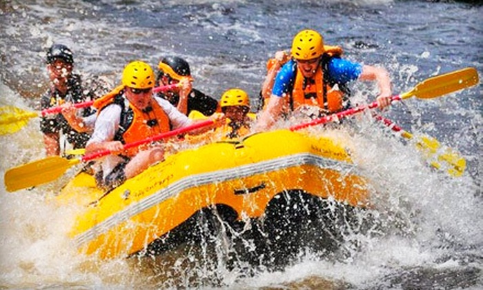 Northwood's Adventures - Vulcan: $50 for a Whitewater-Rafting Tour for Two from Northwood's Adventures in Vulcan (Up to $109.90 Value)